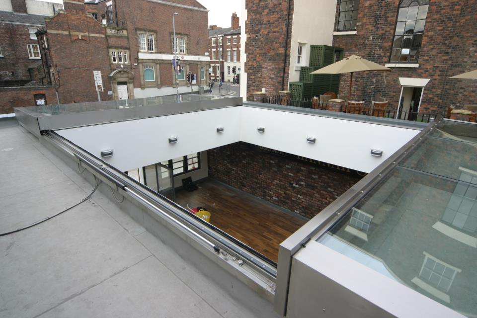 Sliding Roof Stainless steel