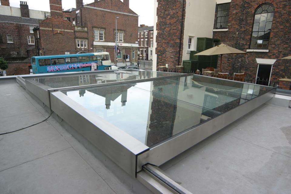 Sliding Roof Stainless steel 2
